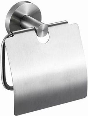 Держатель туалетной бумаги Nofer Roma 16826.S с крышкой