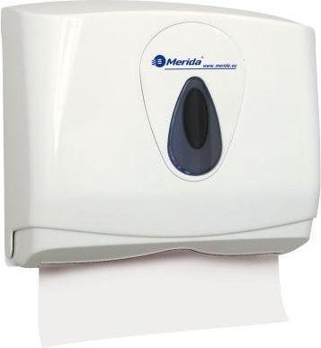 Диспенсер бумажных полотенец Merida Top Mini ATS201 серая капля