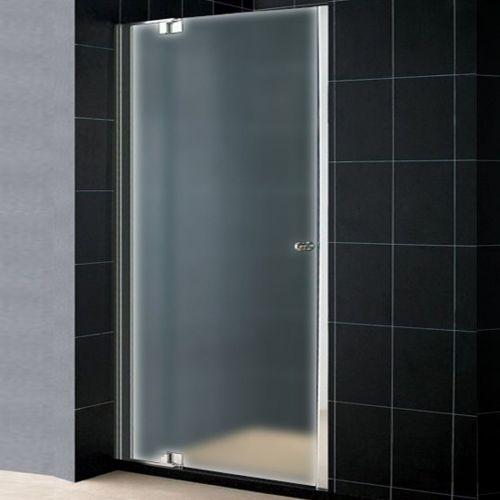 Душевая дверь в нишу RGW Hotel HO-06 (1000-1150)х1950 профиль хром, стекло матовое