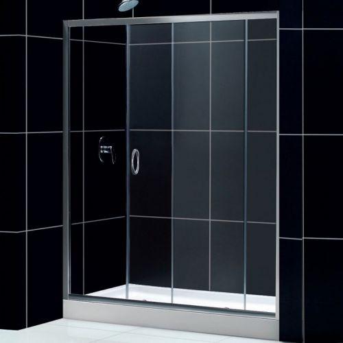 Душевая дверь в нишу RGW Passage PA-12 (1000x1040)x1950, стекло чистое