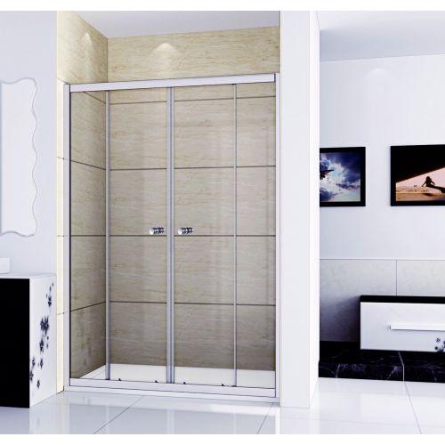 Душевая дверь в нишу RGW Classic CL-10 (1160-1210)x1850 стекло чистое