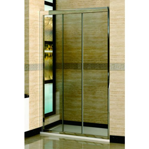 Душевая дверь в нишу RGW Classic CL-11 (1260-1310)х1850 профиль хром, стекло прозрачное