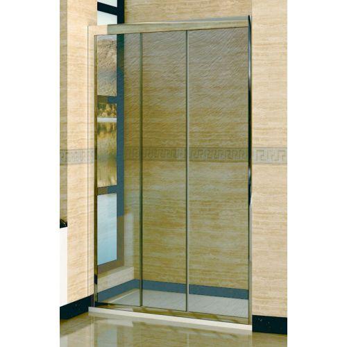 Душевая дверь в нишу RGW Classic CL-11 (1260-1310)х1850 профиль хром, стекло шиншилла