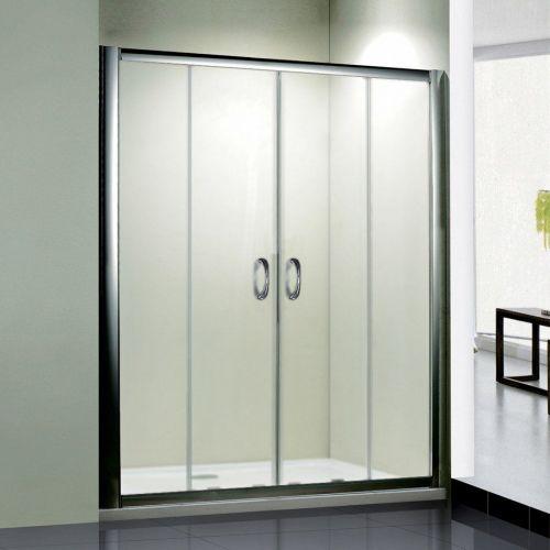 Душевая дверь в нишу RGW Passage PA-11 (1300-1340)x1950 профиль хром, стекло матовое