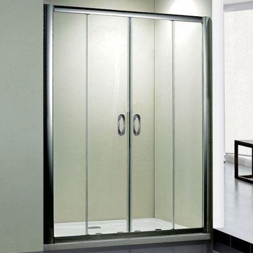 Душевая дверь в нишу RGW Passage PA-11 (1300-1340)x1950 профиль хром, стекло чистое