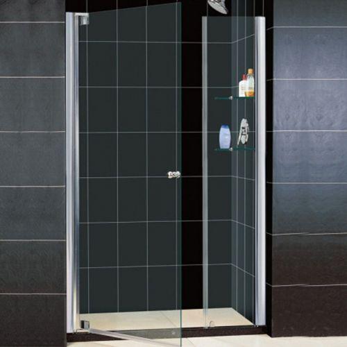Душевая дверь в нишу RGW Hotel HO-05 1400х1950 стекло чистое