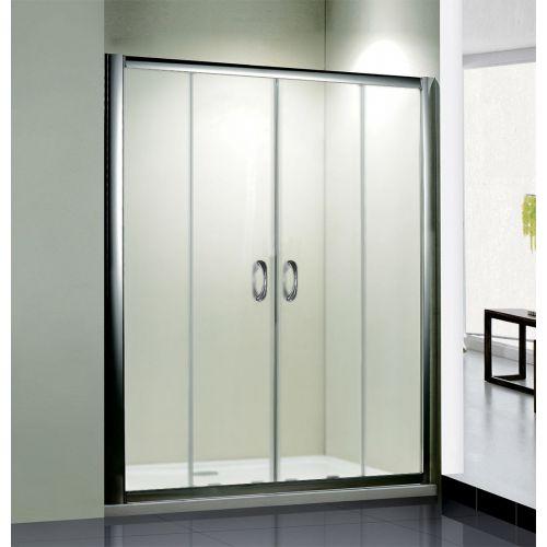 Душевая дверь в нишу RGW Passage PA-11 (1400-1440)x1950 профиль хром, стекло матовое