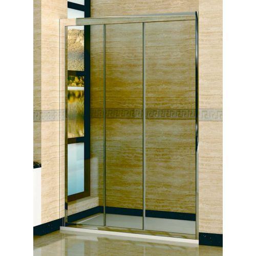Душевая дверь в нишу RGW Classic CL-11 (1460-1510)х1850 профиль хром, стекло чистое