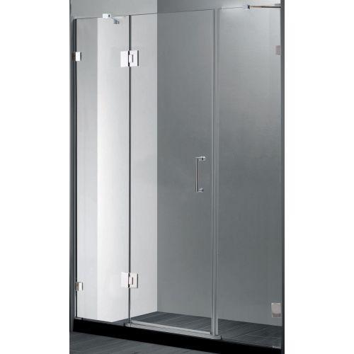 Душевая дверь в нишу RGW Hotel HO-03 1500x1950 профиль хром, стекло чистое