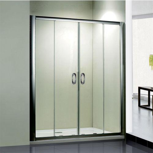 Душевая дверь в нишу RGW Passage PA-11 (1500-1540)x1950 профиль хром, стекло чистое
