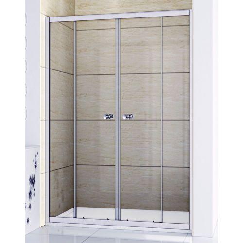 Душевая дверь в нишу RGW Classic CL-10 (1660-1710)x1850 стекло чистое