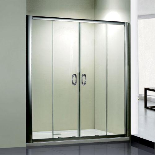 Душевая дверь в нишу RGW Passage PA-11 (2000-2040)x1950 профиль хром, стекло чистое