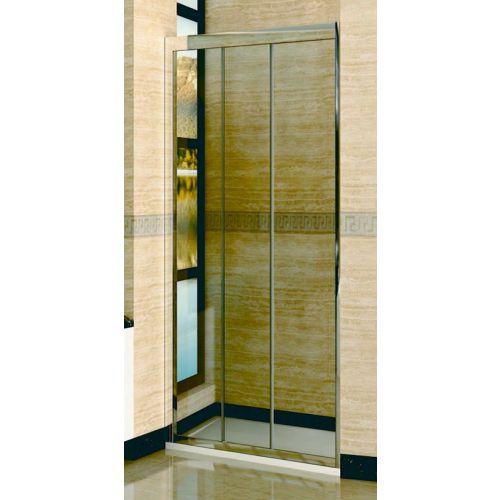 Душевая дверь в нишу RGW Classic CL-11 (760-810)х1850 профиль хром, стекло чистое