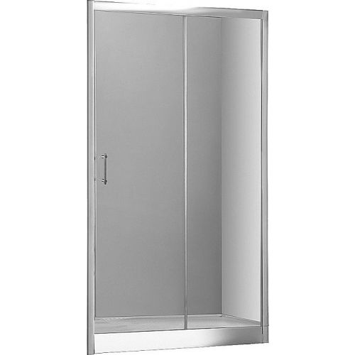 Душевая дверь в нишу Aquanet Alfa NAA6121 1200х2000 стекло прозрачное, профиль хром