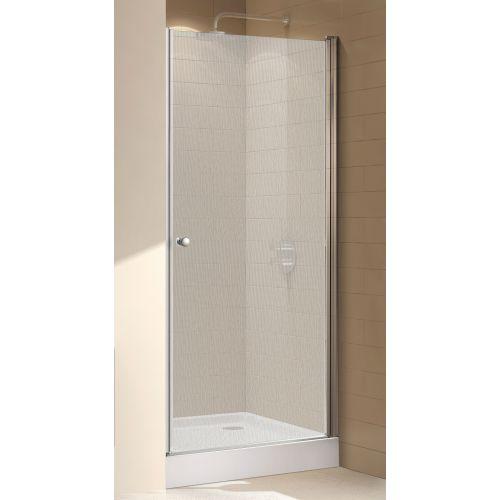 Душевая дверь в нишу Cezares ECO-O-B-1-80-P-Cr стекло punto