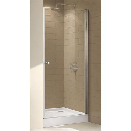 Душевая дверь в нишу Cezares Eco O-B-1-85-C-Cr стекло прозрачное