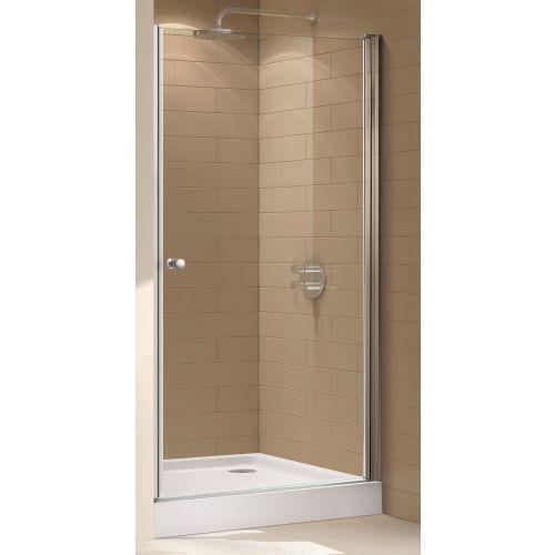 Душевая дверь в нишу Cezares Eco O B 1 95 C Cr стекло прозрачное