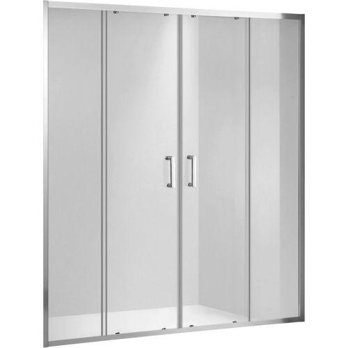 Душевая дверь в нишу Gemy Victoria S30192A 150 см