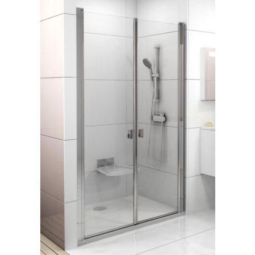 Душевая дверь в нишу Ravak CSDL2-100 Transparent, профиль блестящий