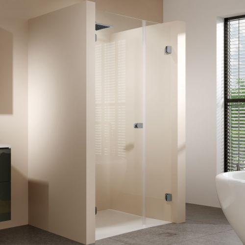 Душевая дверь в нишу Riho Scandic Soft Q102 140 см, L