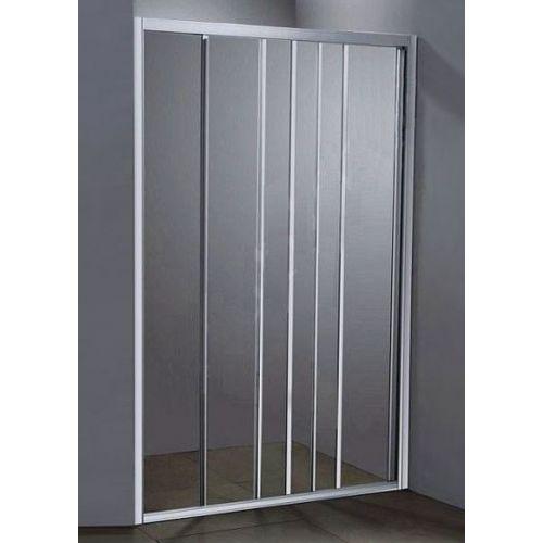 Душевая дверь в нишу River LA MANCHE 110 МТ профиль белый