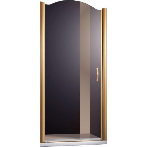 Душевая дверь в нишу Sturm Schick 90 см R bronze