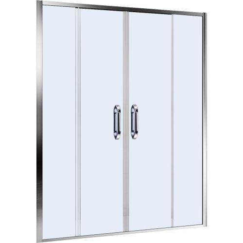 Душевая дверь в нишу Weltwasser WW900 900S4-140