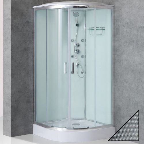 Душевая кабина BelBagno Uno Cab R 2 80 P Cr TOP