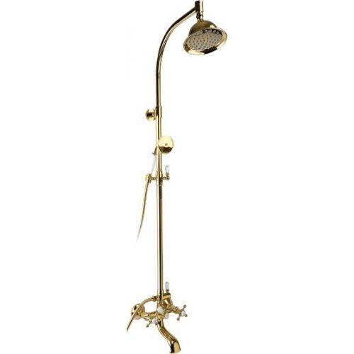 Душевая стойка Timo Nelson SX-1090 золото