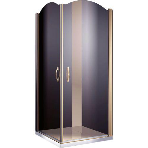 Душевой уголок Sturm Eleganz 100 см bronze
