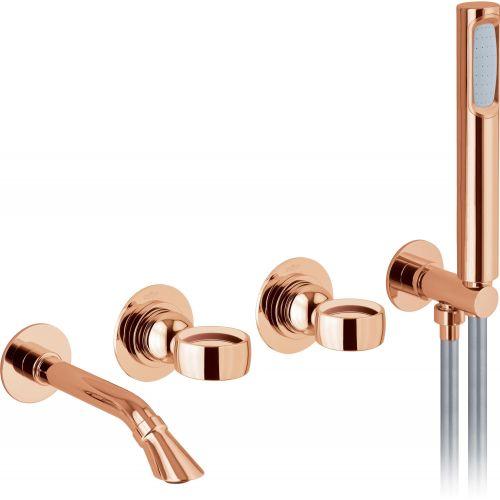 Душевой комплект Webert Opera OA860312980 розовое золото