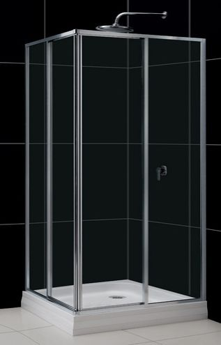 Душевой уголок RGW Classic CL-42 80x120x185 стекло прозрачное