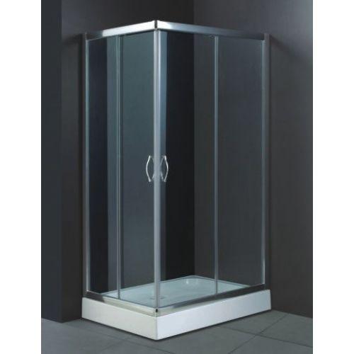 Душевой уголок RGW Passage PA-46 1200x800x1850 профиль хром, стекло чистое