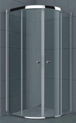 Душевой уголок RGW Classic CL-51 (765-790)x(765-790)x1850 профиль хром, стекло чистое