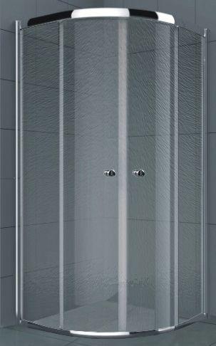Душевой уголок RGW Classic CL-51 (765-790)x(765-790)x1850 профиль хром, стекло шиншилла