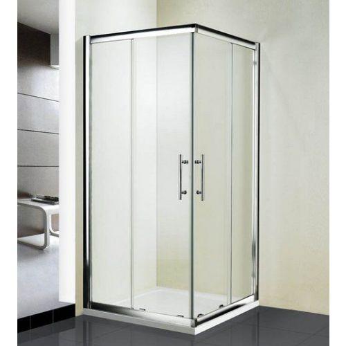 Душевой уголок RGW Hotel HO-31 800x800x1950 профиль хром, стекло чистое