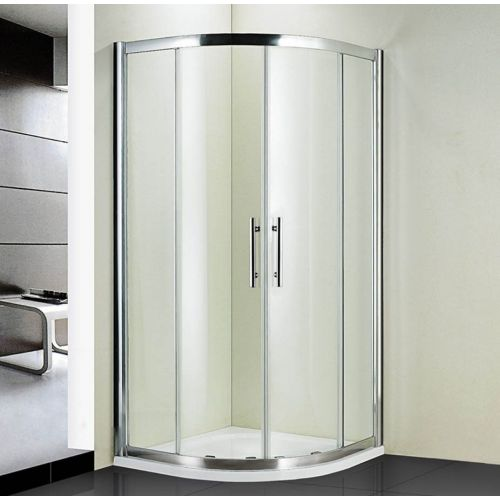Душевой уголок RGW Hotel HO-51 800x800x1950 профиль хром, стекло чистое