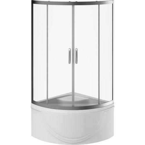 Душевой уголок Am.Pm Move W78G-609-090MT deep профиль матовый хром, стекло прозрачное