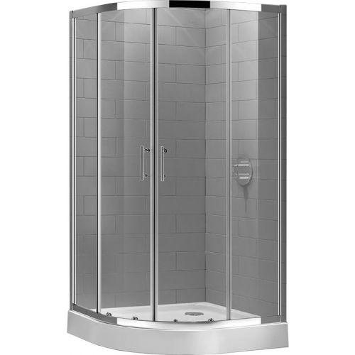 Душевой уголок Cezares ECO-O-R-2-90-C-Cr стекло прозрачное