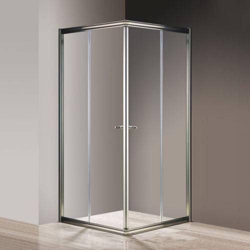 Душевой уголок Cezares Giubileo-A-2-100 прозрачное стекло, бронза