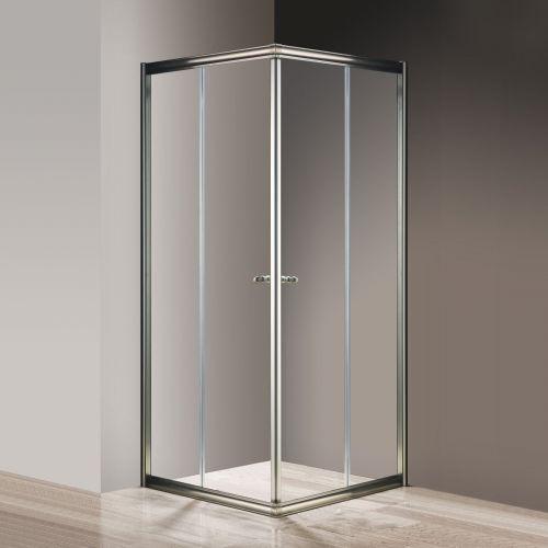 Душевой уголок Cezares Giubileo-A-2-80 прозрачное стекло, бронза