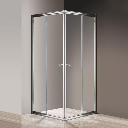 Душевой уголок Cezares Giubileo-A-2-90 прозрачное стекло, хром