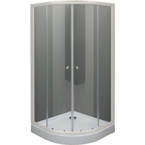 Душевой уголок De Aqua R9090OP-W 90х90, стекло прозрачное