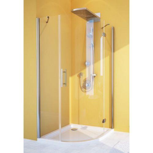 Душевой уголок GuteWetter Lux Meliori GK-101 правый 90x90 см стекло бесцветное, профиль хром