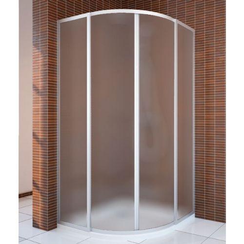 Душевой уголок GuteWetter Practic Round GK-401 100 см стекло матовое, профиль матовый хром