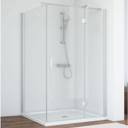 Душевой уголок Vegas Glass AFP-Fis 120*90 07 01 R профиль матовый хром, стекло прозрачное