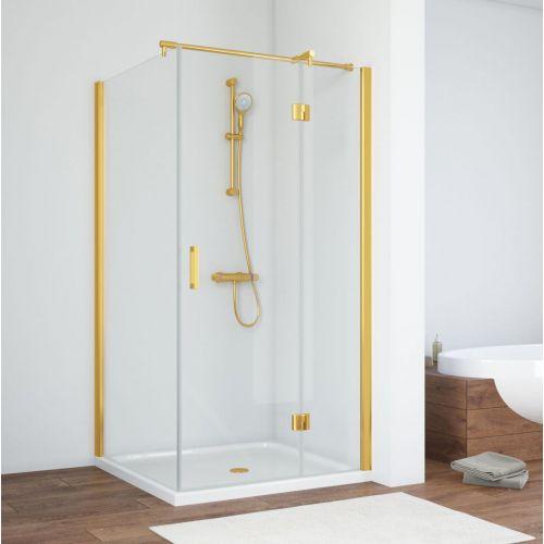 Душевой уголок Vegas Glass AFP-Fis 90 09 01 R профиль золото, стекло прозрачное