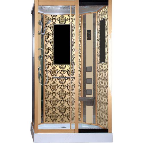 Душевая кабина Niagara Lux 7711GR золото