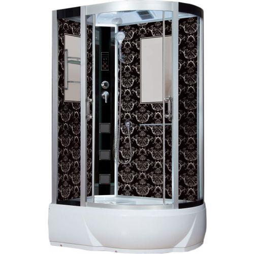 Душевая кабина Niagara Lux 7712BL хром, черный