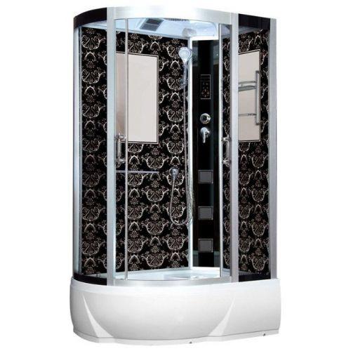 Душевая кабина Niagara Lux 7712BR хром, черный